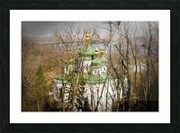 Eastern Orthodox Church in Kiev Picture Frame print