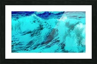Abstract Wave VII Picture Frame print
