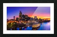 Nashville and General Jackson  Picture Frame print