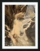 SMOKE ON WATER Picture Frame print