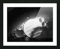 Micro Galaxy - Micro Galaxie Picture Frame print