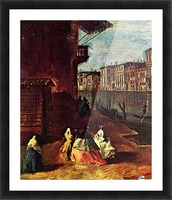 Venice, The Grand Canal with San Geremia, Palazzo Labia, and the Entrance to the Cannaregio Picture Frame print