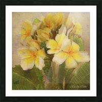 Floridian Bouquet Picture Frame print