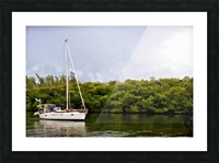 On Quiet Waters Picture Frame print