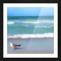 Surfs Up Picture Frame print