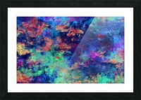 Abstract Colors Picture Frame print