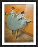 Dancers at the Barre Picture Frame print