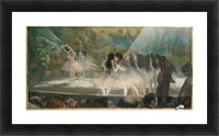 Ballet at the Paris Opera Picture Frame print