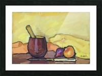 Still Life with Pounder Picture Frame print