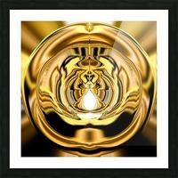 GoldTone3 Picture Frame print