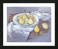 Pears-2 Picture Frame print