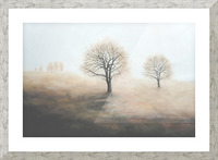 Foggy Picture Frame print