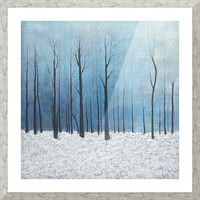 winter scenery Picture Frame print