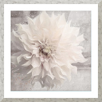 Blanc magique Picture Frame print