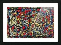 trison Picture Frame print