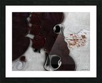 The Meditative Emotion Picture Frame print