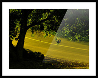 H (14) Picture Frame print