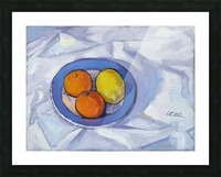 Oranges and Lemon Picture Frame print