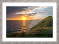 Glorious Light Picture Frame print