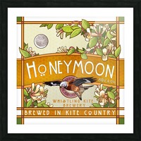 Whistling Kite Brewery: Honeymoon Picture Frame print