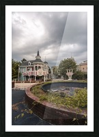 Abandoned Theme Park Missouri Usa Picture Frame print