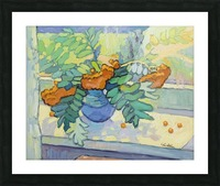 Ashberry on the Windowsill Picture Frame print