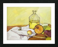 Still Life with Onion-2 Picture Frame print