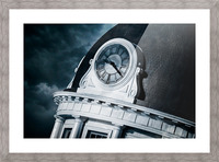 Kingstons Clock Picture Frame print