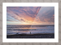 Seaside Sunset Picture Frame print