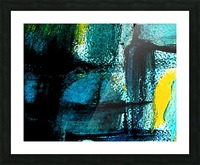 Abstract emotion  Picture Frame print