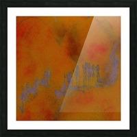 DESERT TRAIN Picture Frame print