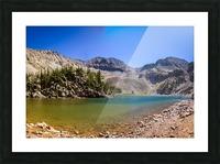 Lake Agnes CO - Glacial Lake  Impression et Cadre photo
