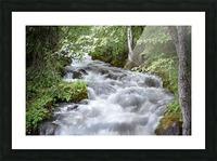 Beautiful Waterfall Photos - Alaska Picture Frame print