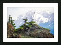 Alaska Scenery Pictures - Cliffs and Mountains Impression et Cadre photo