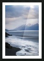 Authentic Alaska Picture Frame print