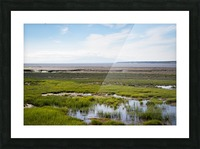 Alaska Scenery - Bay View Picture Frame print