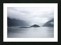 Alaska - Prince William Sound Photo Picture Frame print