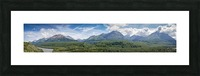 Photos Alaska Mountain Panorama Picture Frame print