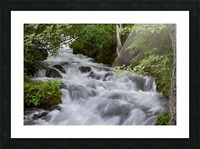 Beautiful Waterfall Photograph Picture Frame print