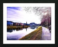 Nostalgie en couleur  Picture Frame print