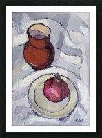 Still Life with Pomegranate Picture Frame print