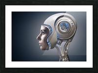 Next Generation Cyborg Picture Frame print