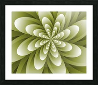 Greeny Feel Picture Frame print