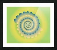 3D Flower Artwork Picture Frame print