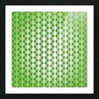 Islamic Art Green Color Artwork Picture Frame print