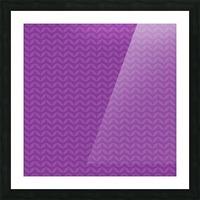 Wavy Seamless Pattern Art Picture Frame print