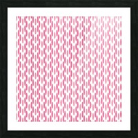 Pink Seamless Pattern Artwork Picture Frame print