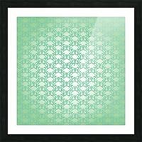 Ornamental Art Pattern Artwork Picture Frame print