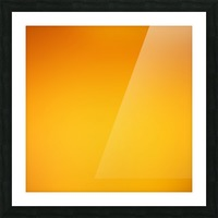 Orange Gradient Background Picture Frame print