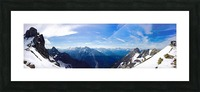 Mountain Clarity Picture Frame print